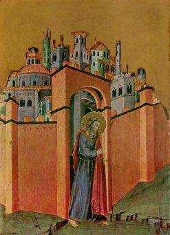 Joachim Leaving the City | Andrea di Bartolo | Oil Painting