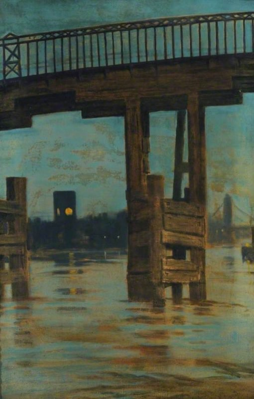 Old Battersea Bridge | Walter Greaves | Oil Painting