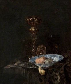 Still Life: Silver-Gilt Goblet and Bowl of Fruit | Willem Kalf | Oil Painting