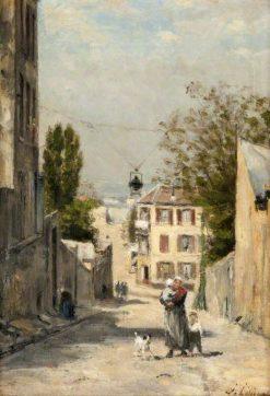 The rue de Norvins