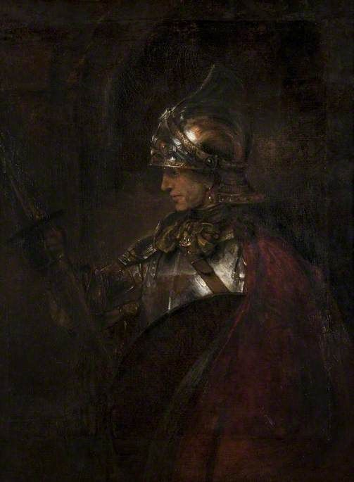 A Man in Armour | Rembrandt van Rijn | Oil Painting