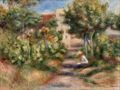 The Painter's Garden | Pierre Auguste Renoir | Oil Painting