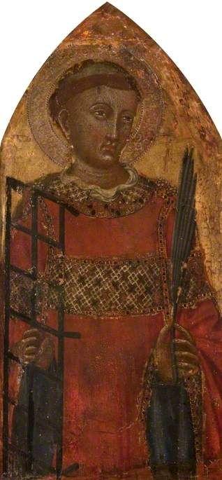 Saint Lawrence | Niccolò di Buonaccorso | Oil Painting