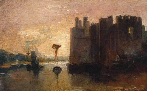 Caernarvon Castle | Joseph Mallord William Turner | Oil Painting