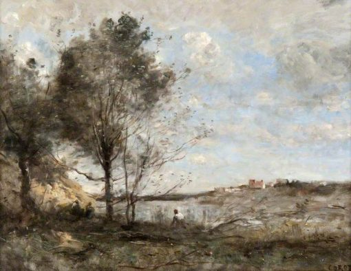The Woodcutter | Jean Baptiste Camille Corot | Oil Painting