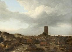 A View of Egmont aan Zee | Jacob van Ruisdael | Oil Painting