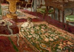 Interior: The Drawing Room | Edouard Vuillard | Oil Painting
