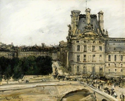 A Corner of the Louvre | Antoine Vollon | Oil Painting