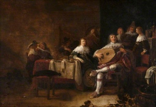 A Musical Party | Anthonie Palamedesz | Oil Painting