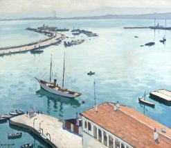 The Port of Algiers | Albert Marquet | Oil Painting