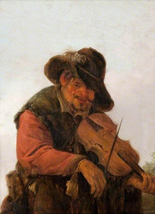An Itinerant Musician | Adriaen van Ostade | Oil Painting