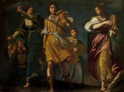 The Israelites Celebrating David's Triumph over Goliath | Matteo Rosselli | Oil Painting
