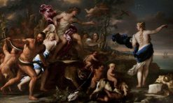 The Triumph of Bacchus and Ariadne | Luca Giordano | Oil Painting