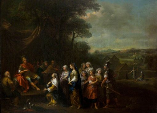 The People of Rome Paying Homage to Porsenna (?) | Francesco Zuccarelli | Oil Painting