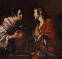 Christ and the Woman of Samaria | Bernardo Strozzi | Oil Painting
