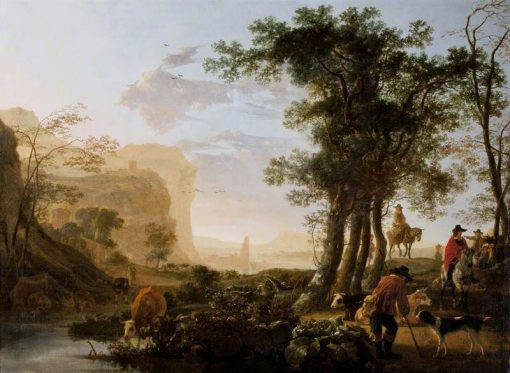 Landscape in the Rhine Valley | Aelbert Cuyp | Oil Painting