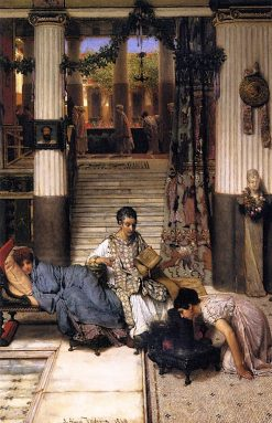 The Convalescent | Sir Lawrence Alma Tadema | Oil Painting