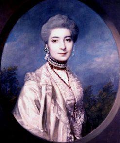 Portrait of Miss Franks | Sir Joshua Reynolds | Oil Painting