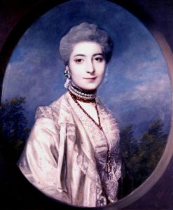 Portrait of Miss Franks   Sir Joshua Reynolds   Oil Painting