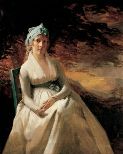 Portrait of Mrs. Andrew (Elizabeth Robinson) Hay | Sir Henry Raeburn