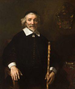 Portrait of Dirk van Os   Rembrandt van Rijn   Oil Painting