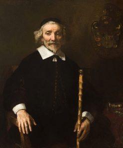 Portrait of Dirk van Os | Rembrandt van Rijn | Oil Painting