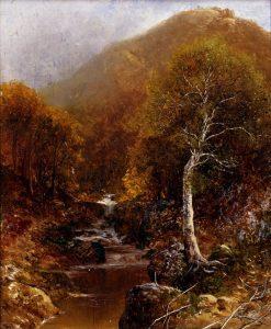 A Mountain Stream | Ralph Albert Blakelock | Oil Painting