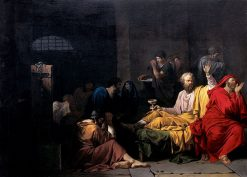 The Death of Socrates | Pierre Peyron | Oil Painting