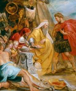 Decius Mus Consulting the Soothsayers (modello)(also known as The Interpretation of the Victim) | Peter Paul Rubens | Oil Painting