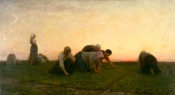 The Weeders | Jules Adolphe Breton | Oil Painting