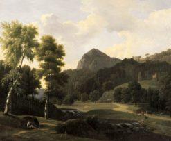 Landscape   Jean Victor Bertin   Oil Painting