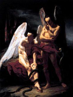 Les Anges Déchus (Fallen Angels) | Francois BarthElemy Michel Edouard Cibot | Oil Painting