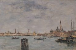The Grand Canal | Eugene Louis Boudin | Oil Painting