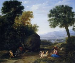 The Rest on the Flight into Egypt | Claude Lorrain | Oil Painting