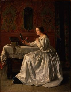 The Necklace | Benjamin Eugene Fichel | Oil Painting