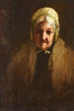 Portrait of possibly Grace Murray in Old Age | John Jackson | Oil Painting