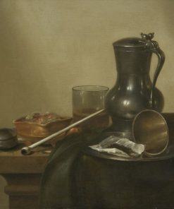 Tobacco Still Life | Willem Claesz. Heda | Oil Painting