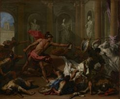 Perseus Confronting Phineus with the Head of Medusa | Sebastiano Ricci | Oil Painting