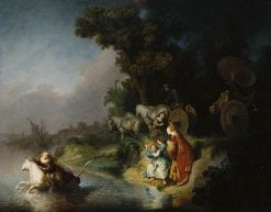 Abduction of Europa(also known as Rape of Europa) | Rembrandt van Rijn | Oil Painting