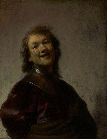 Rembrandt Laughing | Rembrandt van Rijn | Oil Painting
