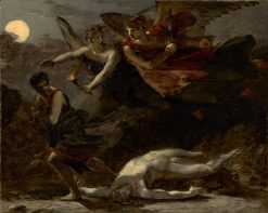 Justice and Divine Vengeance Pursuing Crime | Pierre Paul Prud'hon | Oil Painting