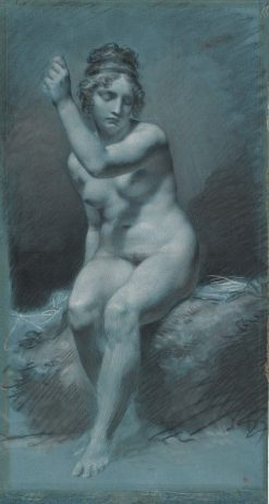 Study of a Female Nude | Pierre Paul Prud'hon | Oil Painting