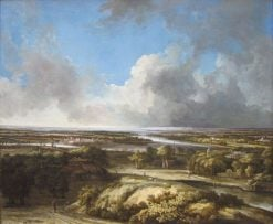 A Panoramic Landscape | Philips Koninck | Oil Painting