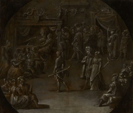 Marriage of a Patrician Couple | Niccolò dell' Abbate | Oil Painting