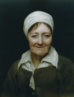 Head of an Old Woman | Michiel Sweerts | Oil Painting