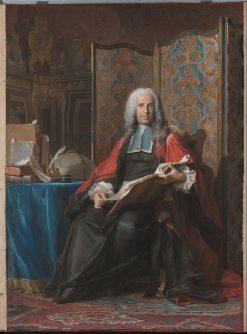 Portrait of Gabriel Bernard de Rieux | Maurice Quentin de La Tour | Oil Painting