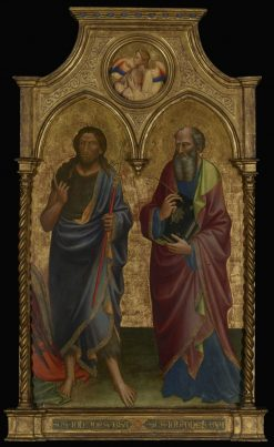 Saints John the Baptist and John the Evangelist | Mariotto di Nardo | Oil Painting