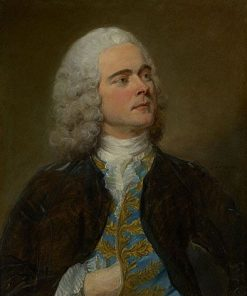 Charles-Francois Pinceloup de la Grange | Jean Baptiste Perronneau | Oil Painting
