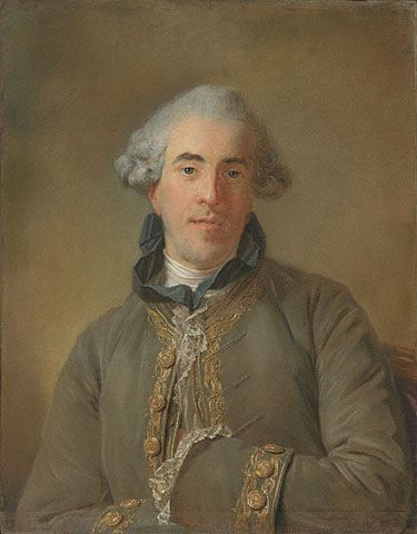 Portrait of Theophile Van Robais | Jean Baptiste Perronneau | Oil Painting