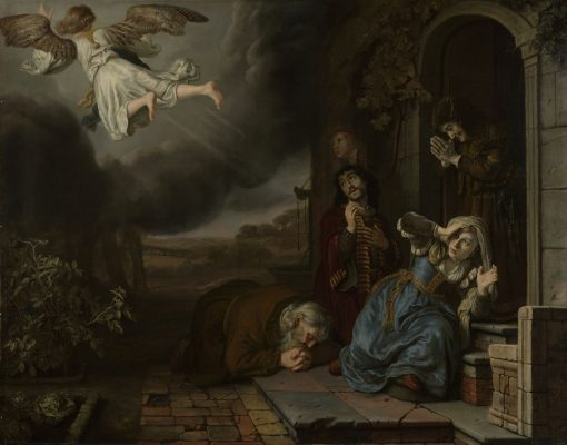 The Angel Taking Leave of Tobit and His Family | Jan Victors | Oil Painting